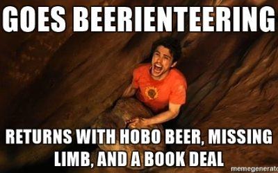 Beerienteering – 127 Beers (BH3 #822)